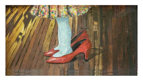 """Mama's Shoes"" - Print"