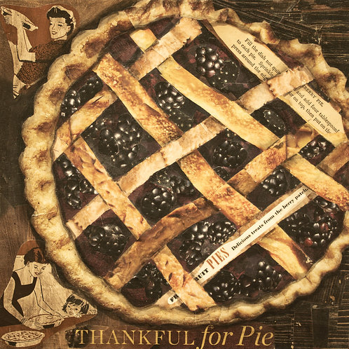 """Thankful for Pie"" - Print"