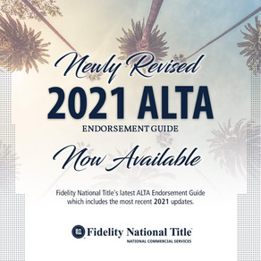 New 2021 Endorsement Guide