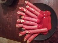 Halloween ja syötävät sormet