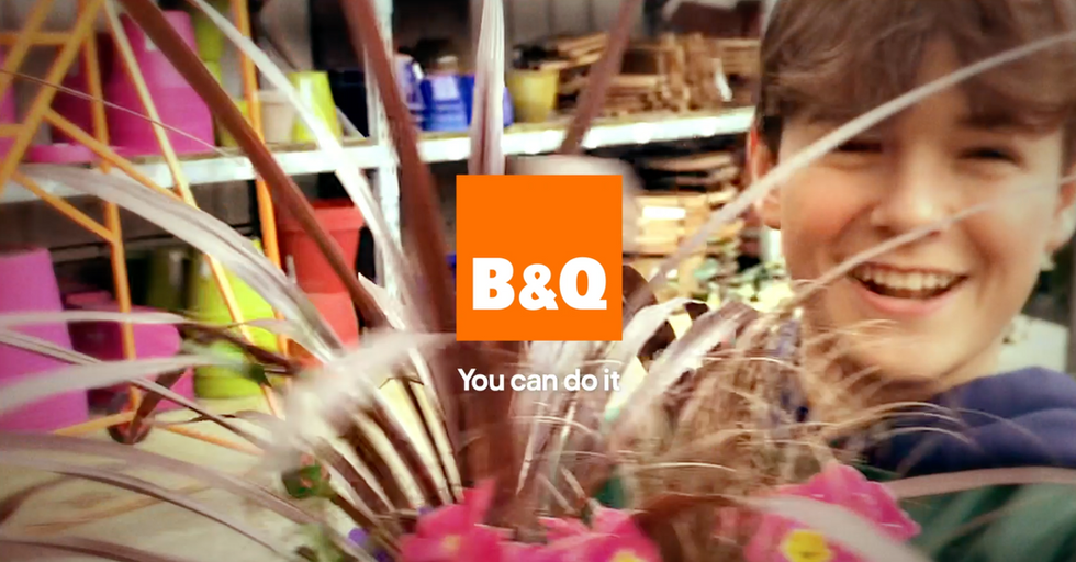 'How to build a life' - B&Q   Knucklehead