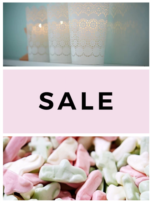 Candy and Candles Sale!