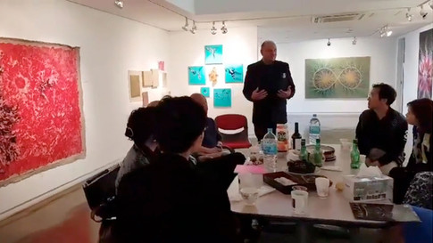 Yiannis Kaminis @ Pink Gallery Artist's Talk_2018 1014