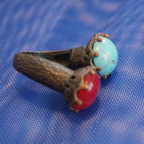 doble stone on ring