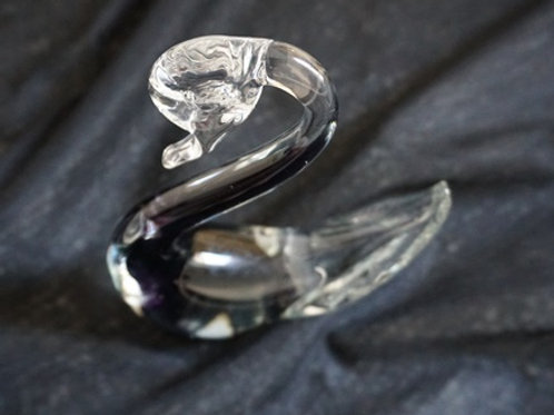 murano swan