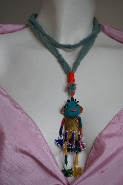 dancer doll necklace
