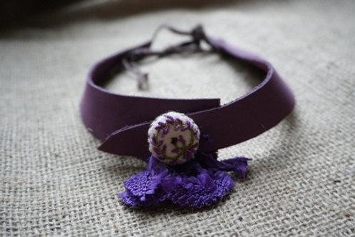 violet nacklace