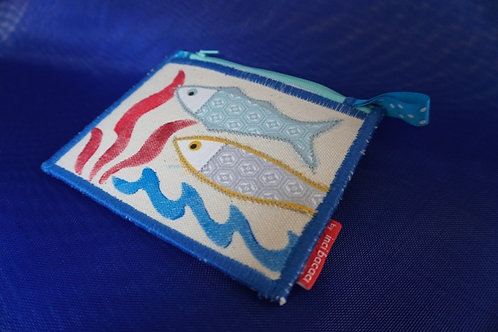 fish on wallet