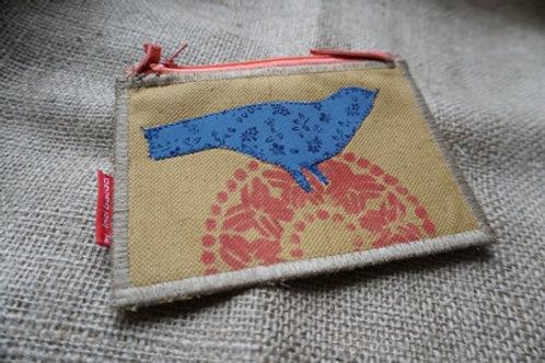 bird on wallet