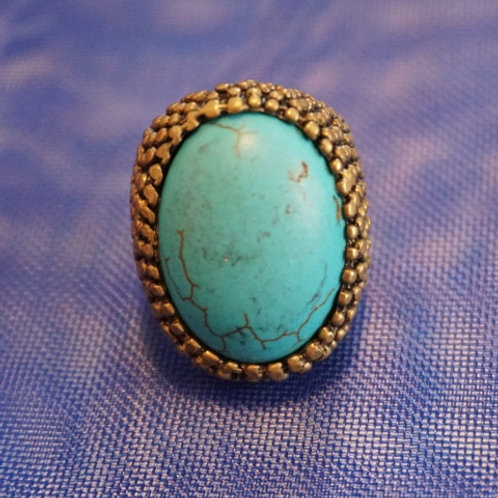 turquoise on ring