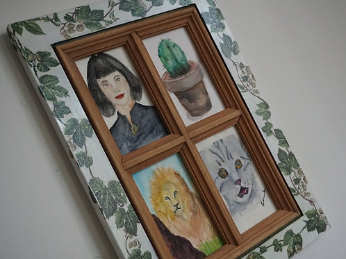 4 in 1 wood frame