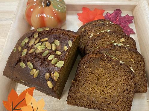 Pumpkin Spice Tea Bread