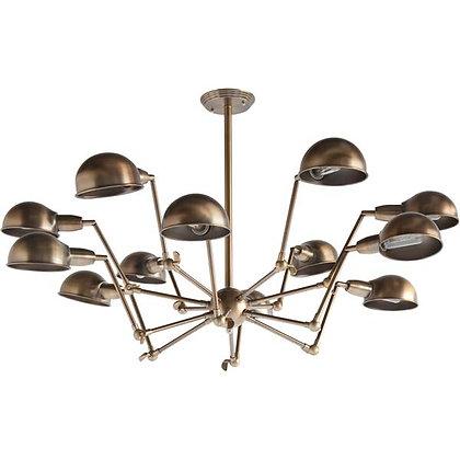 Brass Cuplette Chandeliet