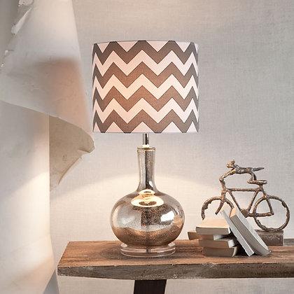 Mercury & Linen Lamp