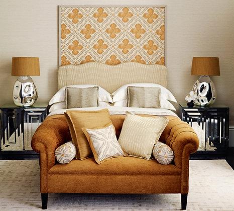 Custom linen Bed