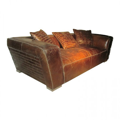 Relaxed Leather Sofa