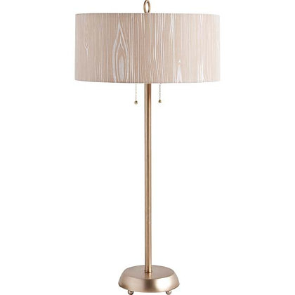 Modern Lamp in Brass & Nuetral