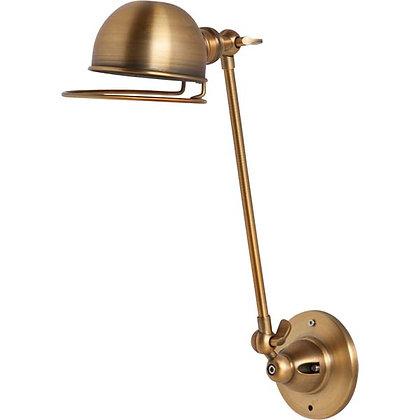 Industry Brass Sconce