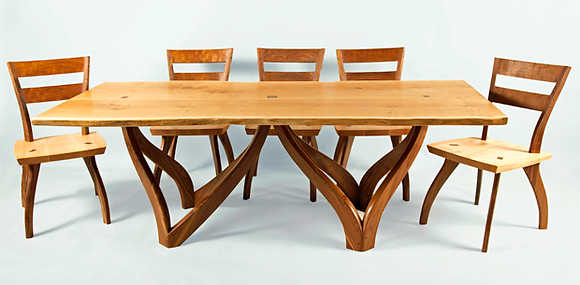 Natural Artisan Dining Table