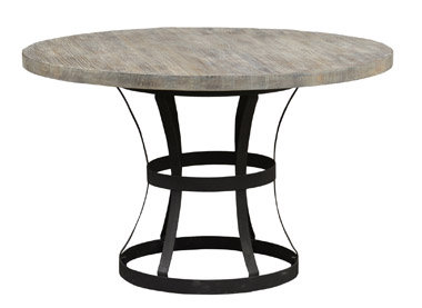 Iron & Wood Dining Table