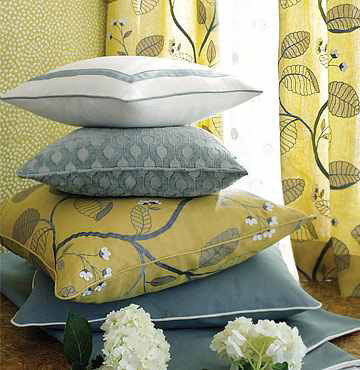 Linen Embroidery Pillows Sets