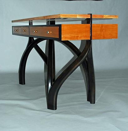 Custom Bent Wood Desk