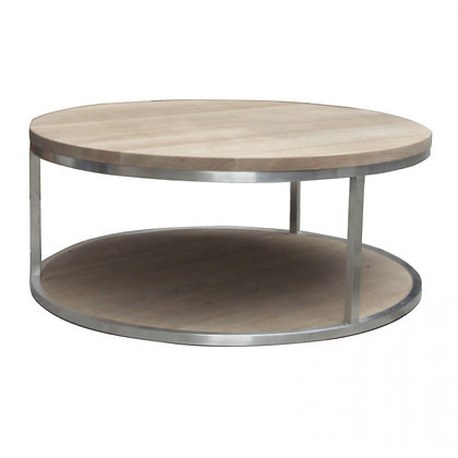Organic & Steel Coffee Table