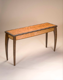 Artisan Chipped Wood Console