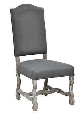 Classic Camel Back Side Chair
