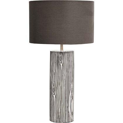 Linen & Wood Lamp