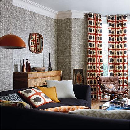 Modern Color Walls, Drapes & Pillows