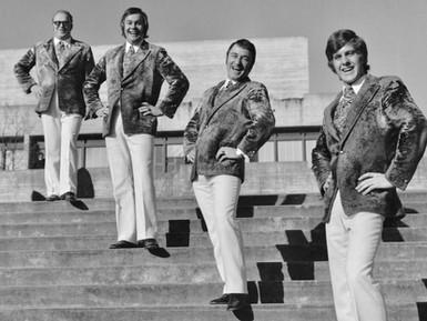 Die Travelin' Men in der Tanz Tenne