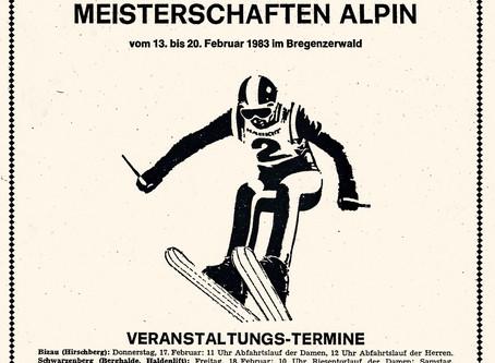 Österreichische Skimeisterschaften im Bregenzerwald 1983