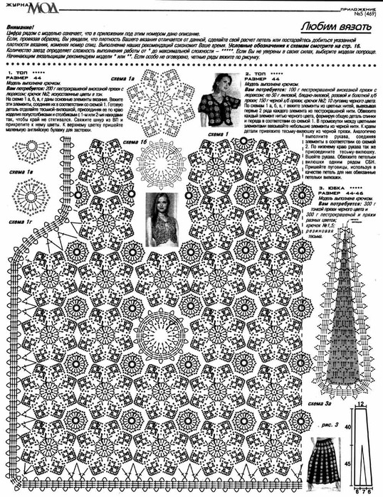 Комплект из мотивов (схема)