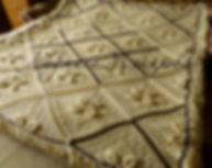вязание на заказ, пязаный плед, плед ручной работы, шерстяной вязаный плед