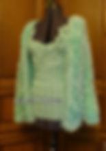 Вязание на заказ, топ спицами и крючком, накидка из травки, ирландское кружево