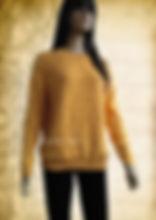 золотой, горчичный цвет, джемпер, джемпер вязаный, джемпер женский, джемпер спицами, джемпер ажурный, вязание на заказ, песочный, японские ажуры