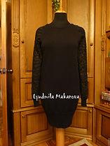 вязание на заказ, платье спицами