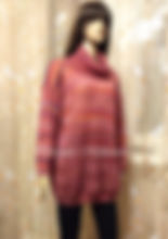 вязание на заказ, свитер спицами, мохер на шелке, свитер из мохера