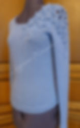голубой, однотонный, альпака, ручная авторская работа, ручная работа, ручная работа на заказ, джемпер вязаный, джемпер, джемпер женский, джемпер спицами, Аппликация, джемпер с вышивкой, пуловер вязаный, пуловер, пуловер женский, пуловер спицами, кофточка, Кофточка вязаная, кофта женская