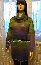 вязание на заказ, свитер спицами, мохер на шелке, свитер из мохера, пряжа Rowan, пряжа Италия