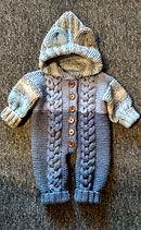 вязаный комплект для мальчика, вязание на заказ, вязаная кофточка, вязаная шапка, вязаный шарф, комбинезон