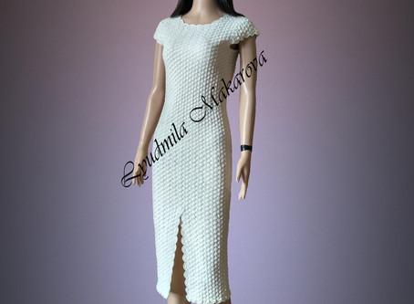 Вечернее элегантное платье на выпоускной вечер.