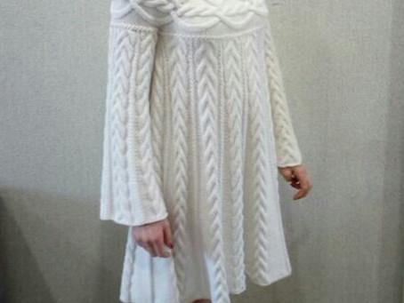 """Платье в стиле """"Шамони""""."""
