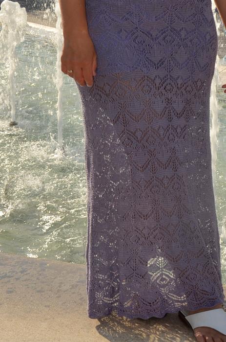 """Платье по мотивам """"Шетландских узоро"""