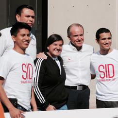EQUIPO SID Y GOBERNADOR DE SLP, SID 2017