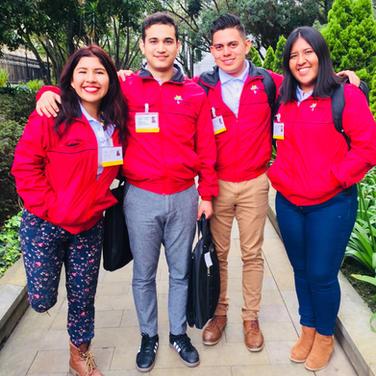 DELEGACION MEXICANA EN VOLUNTARIADO DE LA ALIANZA DEL PACIFICO, COLOMBBIA, 2018