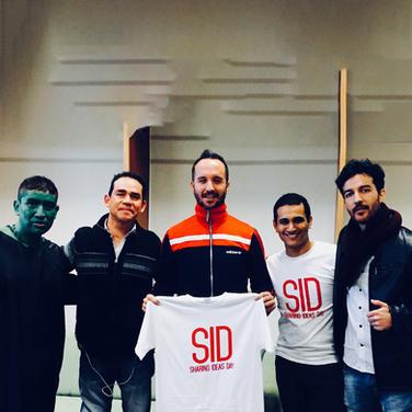 CON LOS PONENTES DE SID2017