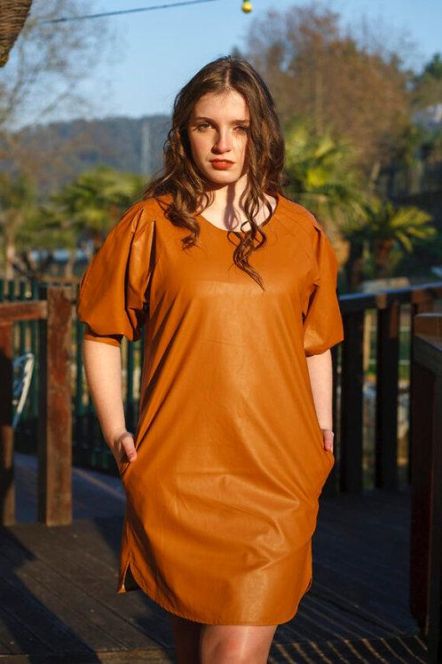 Vestido de napa ALBERTINA VIEIRA