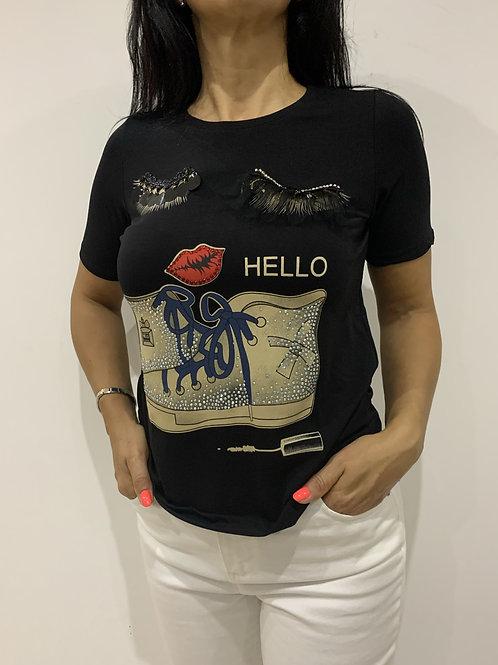 T-shirt de algodão MONTE CERVINO